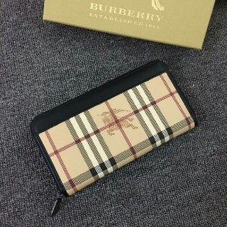 BURBERRY - 長財布 Burberryバーバリー 19新品 財布 男女兼用