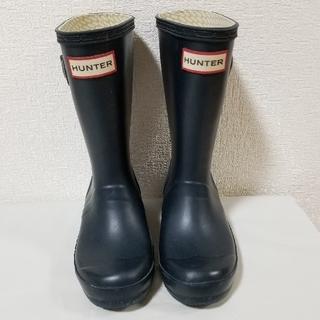 ハンター(HUNTER)のハンター レインブーツ  キッズ 18cm(長靴/レインシューズ)