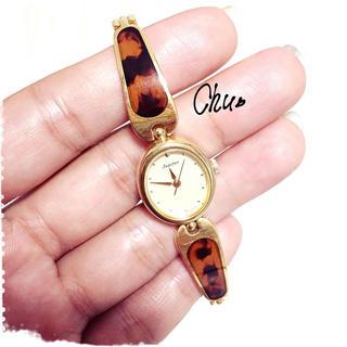 オリエント(ORIENT)のORIENT Jupiterべっ甲腕時計(腕時計)