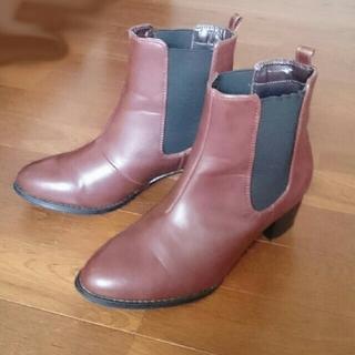 26cm アウトレットシューズ サイドゴアブーツ(ブーツ)