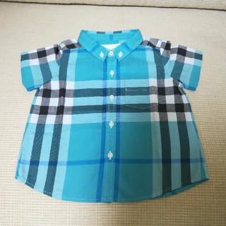 BURBERRY - バーバリーチルドレン 半袖シャツ 12m80cm