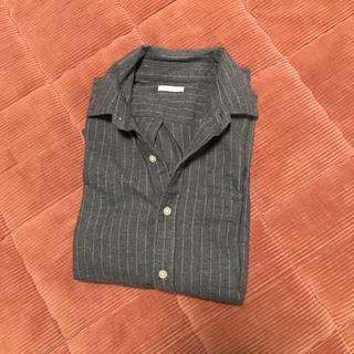 GU - GU*メンズコットンシャツ