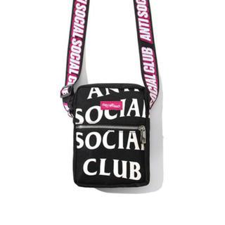 アンチ(ANTI)の19fw ASSC Remix Black Sidebag(ショルダーバッグ)