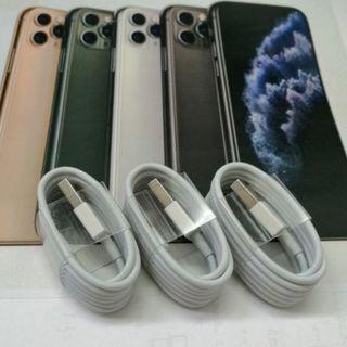 iPhone 充電ケーブル 1m3本セット  急速充電対応 特価!