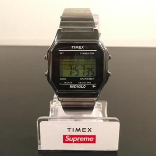 Supreme / Timex®︎Digital Watch Silver