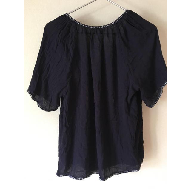 GAP(ギャップ)のGAP  半袖刺繍プルオーバーSサイズ レディースのトップス(シャツ/ブラウス(半袖/袖なし))の商品写真