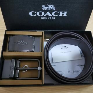 COACH - オススメ!COACH コーチ   ベルト セット  メンズ