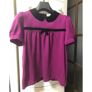 RED VALENTINO - 最初値下げ❗️紫ピンク レッドヴァレンティノ カットソー S