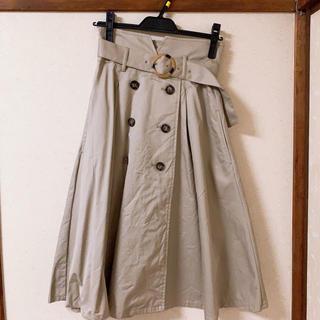 dazzlin - dazzlin ♡ トレンチ風スカート