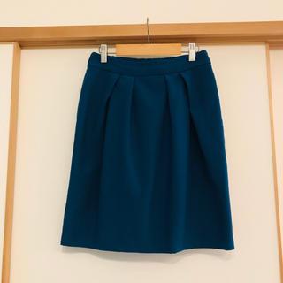 ヴィス(ViS)のVis スカート ネイビー Mサイズ 膝丈(ひざ丈スカート)