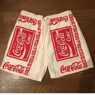 コカ・コーラ - (最終sale )古着ヴィンテージ コカ・コーラ ハーフパンツ