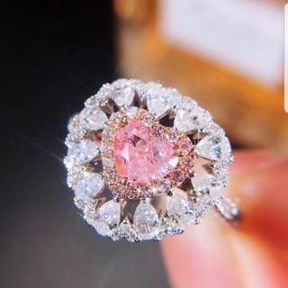 GIA♡ピンクダイヤモンドリング
