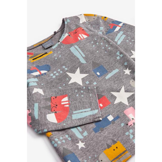 NEXT(ネクスト)の【新品】next ブライトカラーキャラクター 長袖Tシャツ(ヤンガー) キッズ/ベビー/マタニティのベビー服(~85cm)(シャツ/カットソー)の商品写真