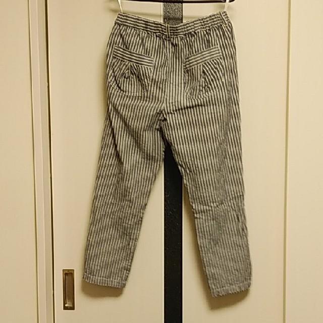 しまむら(シマムラ)の麻混パンツLサイズ レディースのパンツ(カジュアルパンツ)の商品写真