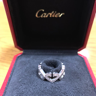 カルティエ(Cartier)のCartier Cハートリング(リング(指輪))