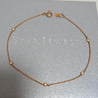 STAR JEWELRY - スタージュエリー ダイヤモンドブレスレットK18アガット