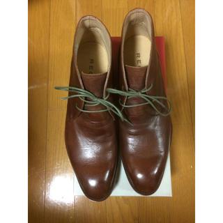 リーガル(REGAL)の新品 リーガル ブーツ チャッカ 革靴  ビジネス プライベート (ドレス/ビジネス)