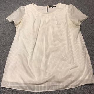 ニジュウサンク(23区)の23区 40 半袖白ブラウス(シャツ/ブラウス(半袖/袖なし))