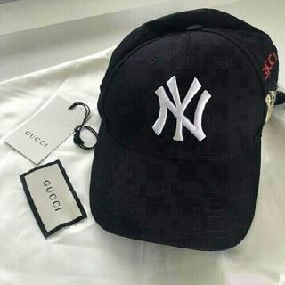 Gucci - 【GUCCI】New York Yankees cap black