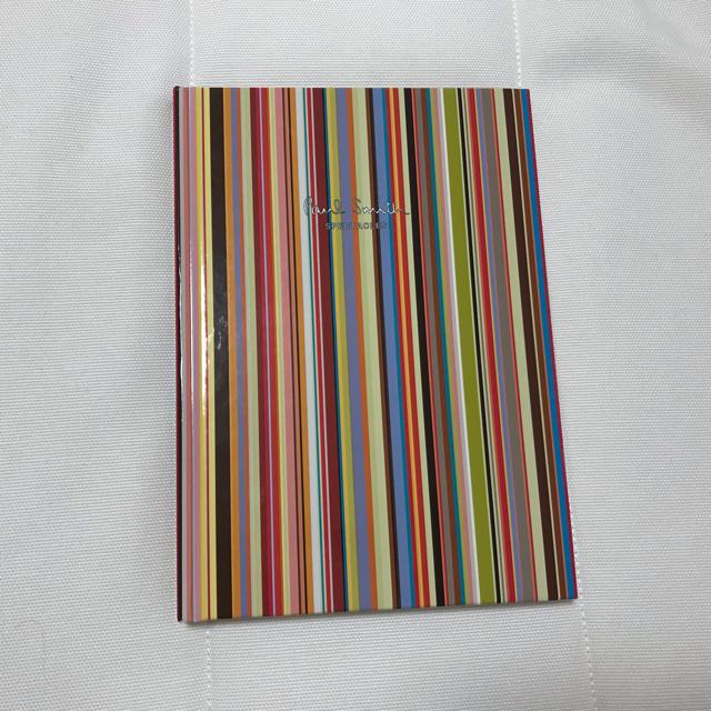 Paul Smith(ポールスミス)の新品 ポールスミス(paul smith)非売品ノート インテリア/住まい/日用品の文房具(ノート/メモ帳/ふせん)の商品写真