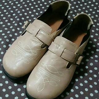 フェリシモ(FELISSIMO)のフェリシモ*古着*靴(スリッポン/モカシン)