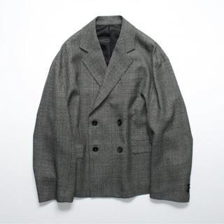 COMOLI - stein 19aw グレンチェック ジャケット