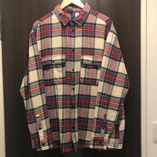 H&M - 〔 H&M エイチアンドエム 〕チェックシャツ ネルシャツ