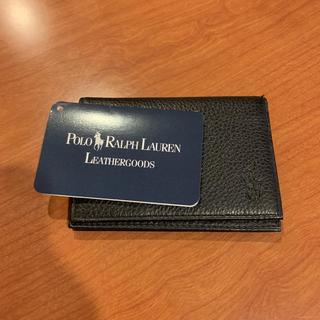 ポロラルフローレン(POLO RALPH LAUREN)の美品❗️POLO RALPH LAUREN ラルフローレン カードケース(名刺入れ/定期入れ)