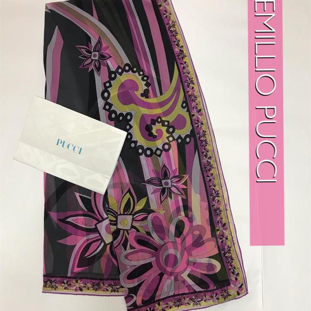EMILIO PUCCI(エミリオプッチ)のEMILIO PUCCI ロングスカーフ レディースのファッション小物(バンダナ/スカーフ)の商品写真
