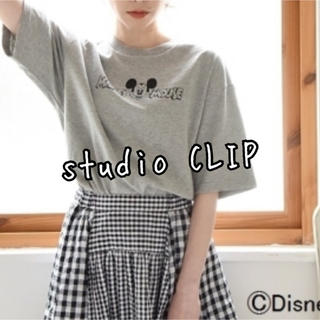 STUDIO CLIP - studio CLIP スタディオクリップ  ディズニー ミッキー Tシャツ美品