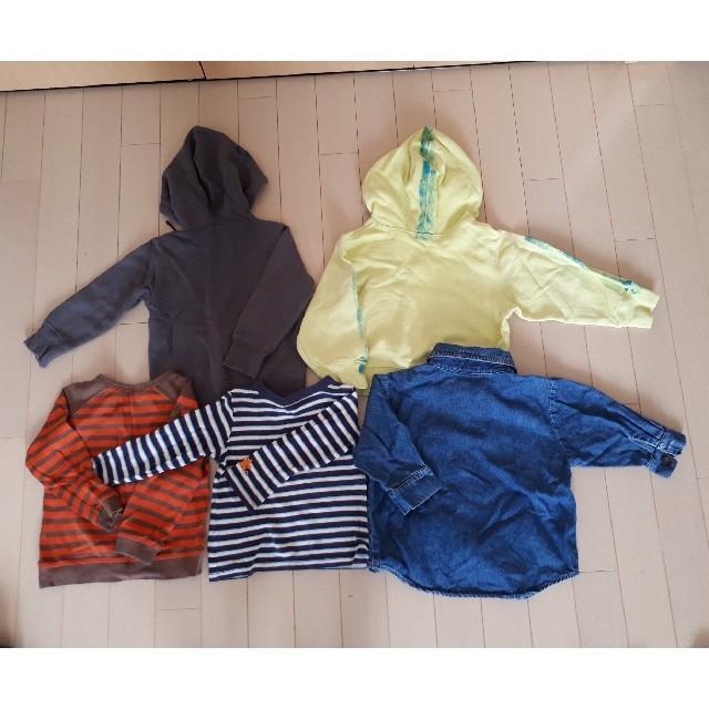 DIESEL(ディーゼル)の90㎝ パーカーなど、長袖セット キッズ/ベビー/マタニティのキッズ服 男の子用(90cm~)(ジャケット/上着)の商品写真