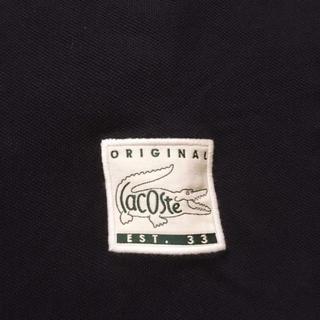 LACOSTE - 新品未使用  ラコステオリジナル ポロシャツ  Lネイビー