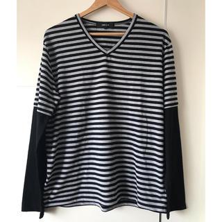 コムサイズム(COMME CA ISM)のコムサイズム  ボーダー長袖Tシャツ(Tシャツ/カットソー(七分/長袖))