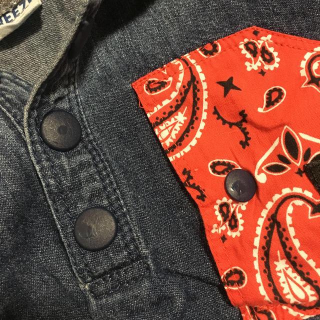 BREEZE(ブリーズ)のデニム ブルゾン キッズ/ベビー/マタニティのキッズ服 男の子用(90cm~)(ジャケット/上着)の商品写真