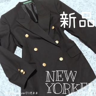 ニューヨーカー(NEWYORKER)の新品♡NEWYORKER♡オシャレ♡上質♡ウールコート♡定価10万♡クリスマス♡(ロングコート)