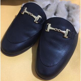 アパルトモンドゥーズィエムクラス(L'Appartement DEUXIEME CLASSE)の☆ JILL様専用☆CAMINANDO BIT FUR ビットローファー (ローファー/革靴)