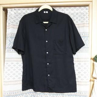 UNIQLO - ユニクロユー UNIQLO U オープンカラーシャツ 半袖 2017 メンズ