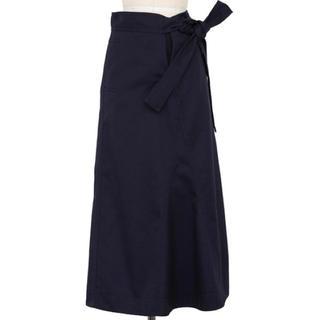 Drawer - 美品  ドゥロワー  ラップ風Aラインロングスカート
