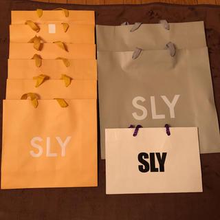 スライ(SLY)のSLY ショッパー ショップ袋(ショップ袋)
