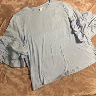 H&MフリルTシャツ