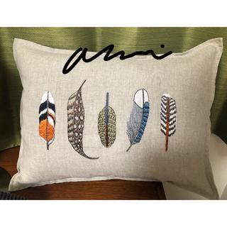 アッシュペーフランス(H.P.FRANCE)のコーラルアンドタスク small feathers pillow(クッション)