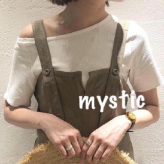 ミスティック(mystic)のワンショルリブT*(Tシャツ(半袖/袖なし))