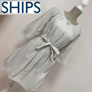 シップス(SHIPS)のシップス ノーカラーコート スプリングコート(スプリングコート)