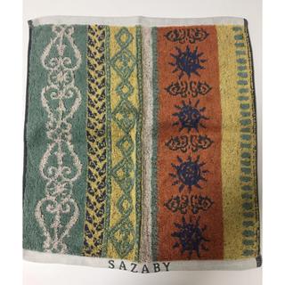 サザビー(SAZABY)のsazabyハンドタオル(タオル/バス用品)