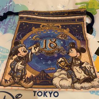 Disney - ディズニーシー18周年 巾着 ディズニーシー
