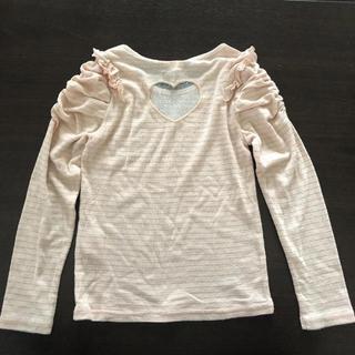 ライトオン(Right-on)の長袖Tシャツ 120㎝(Tシャツ/カットソー)