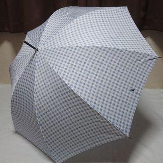 ポロラルフローレン(POLO RALPH LAUREN)の新品 ポロラルフローレン 雨傘 長傘 ブルー チェック(傘)