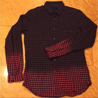 ディーゼル ブラックゴールド チェックシャツ