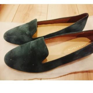 オリエンタルトラフィック(ORiental TRaffic)のあいこ39様専用✳オリエンタルトラフィック モスグリーンローファー(ローファー/革靴)