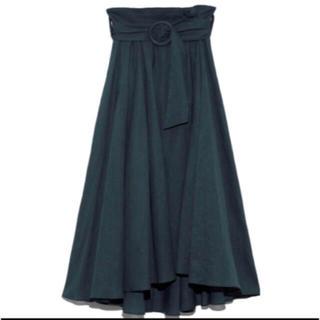 snidel - ベルトデザインミディスカート
